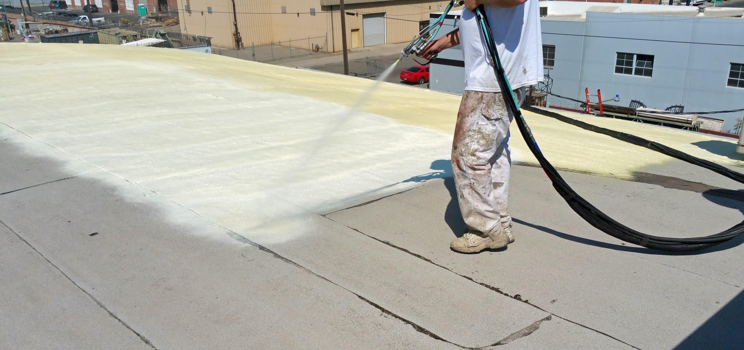 Spray Foam Roofing Calgary
